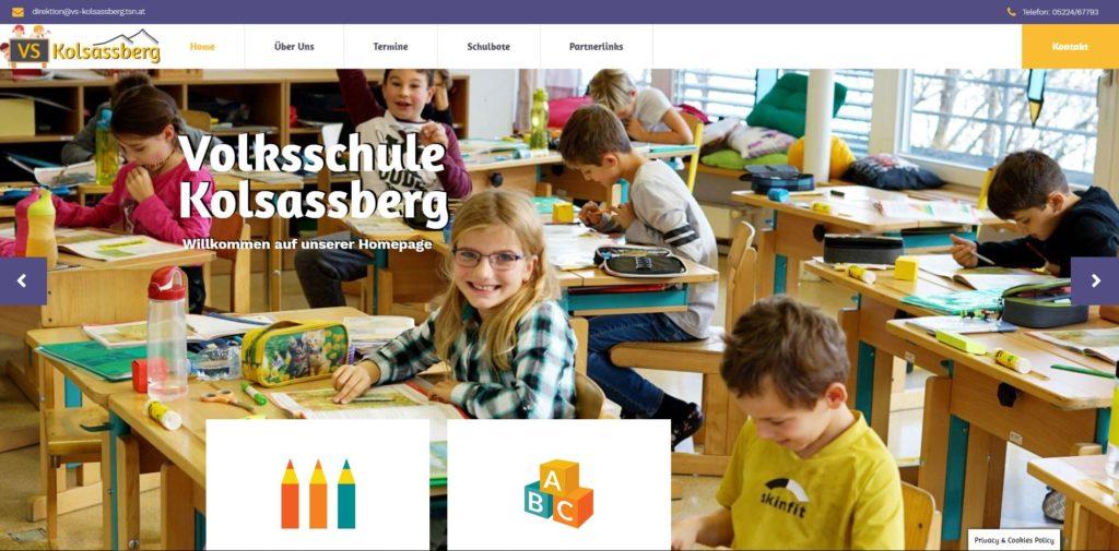 Homepage Schule groß